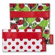 Sachi - Lunch Pockets Set Ladybug 2pce