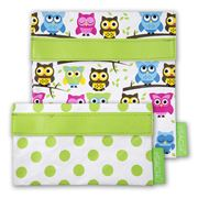 Sachi - Owl Lunch Pocket Set 2pce