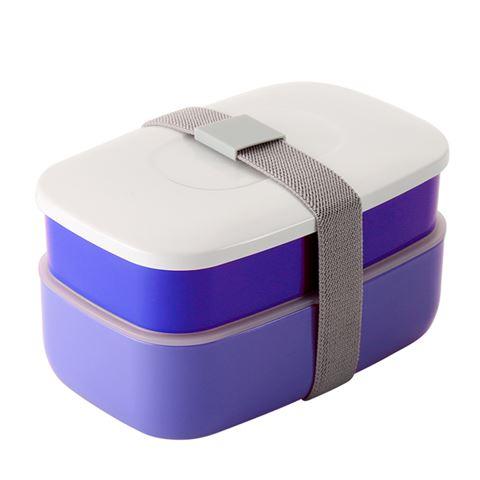oasis stackable blue bento lunch box peter 39 s of kensington. Black Bedroom Furniture Sets. Home Design Ideas