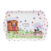 Ashdene - Ruby Red Shoes Butterflies Scatter Tray