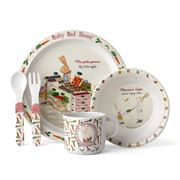 Ashdene - Ruby Goes To Paris Kids' Mealtime Set 5pce