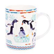Ashdene - Deep Blue Penguin Play Mug