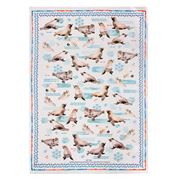Ashdene - Deep Blue Seal Appeal Tea Towel