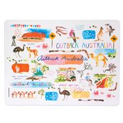 Ashdene - Australia Down Under Outback Placemat