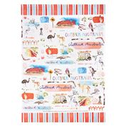 Ashdene - Australia Down Under Outback Tea Towel