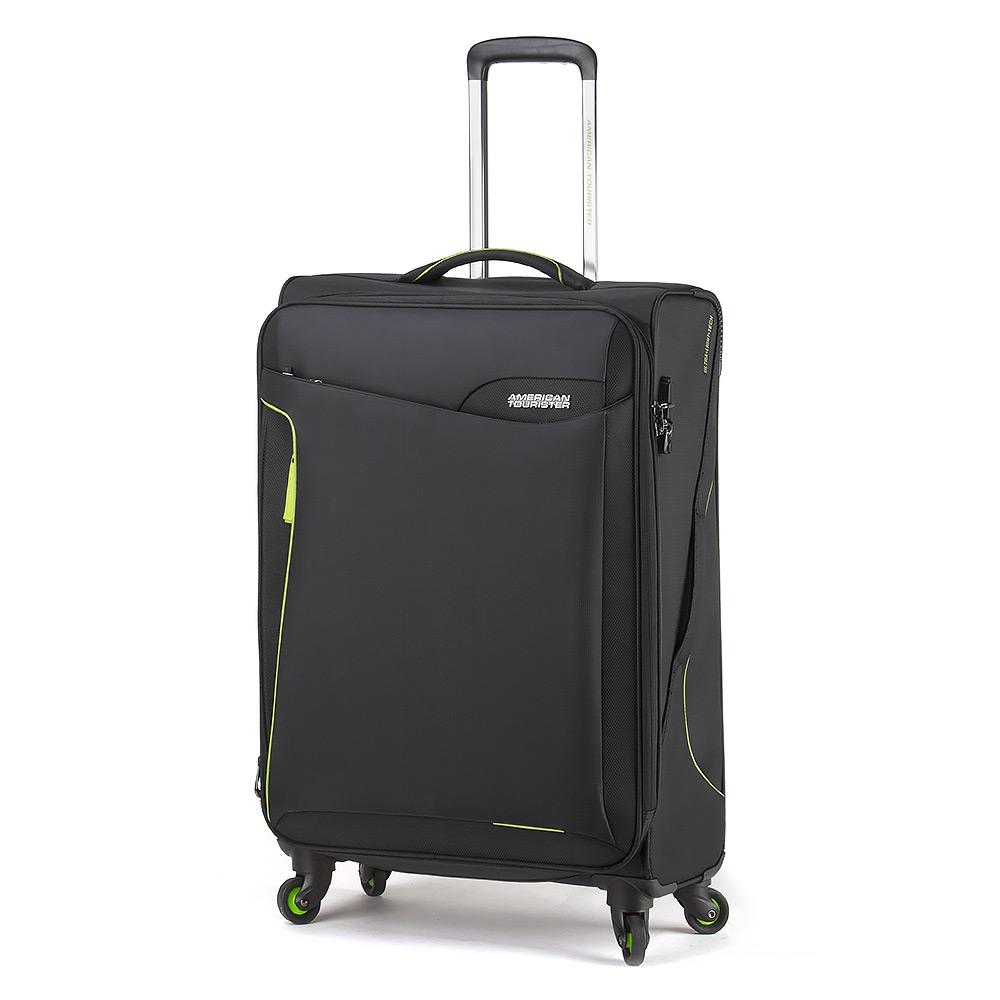 American tourister applite 2 black spinner 71cm peter 39 s of kensington - American tourister office bags ...