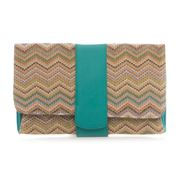 Makaron - Canvas Paris Envelope Clutch