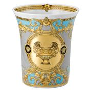 Rosenthal - Versace Prestige Gala Blue Vase 18cm