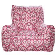 Lelbys - Damask Pink Bean Chair