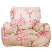 Lelbys - Orchard Pink Bean Chair