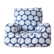 Lelbys - Freckles Navy Bean Chair