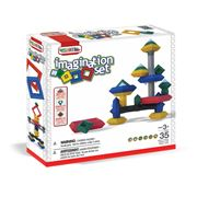 Wedgits - Imagination Building Block Set 35pce