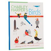 Pomegranate Kids - Charley Harper Birds Sticker Book