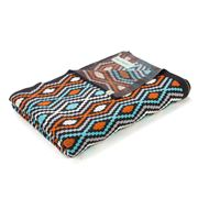 Otto & Spike - Aqua/Orange/Charcoal Carnivalise Blanket