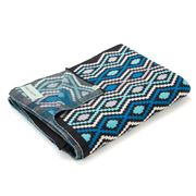Otto & Spike - Blue/Natural/Charcoal Carnivalise Blanket