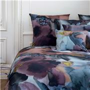 Sonia Rykiel Maison - Eclat Plain Teal King Flat Sheet