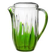 Guzzini - Iris Green Pitcher