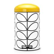 Brabantia - Orla Kiely Cream & Yellow Silent Bin 12L