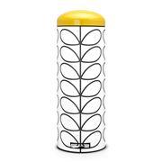 Brabantia - Orla Kiely Cream & Yellow Bin 20L