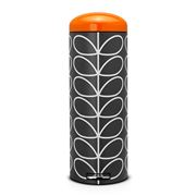 Brabantia - Orla Kiely Charcoal & Orange Bin 20L