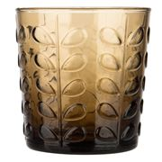 Orla Kiely - Raised Linear Stem Chocolate Tumbler