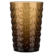 Orla Kiely - Raised Linear Stem Chocolate Highball Tumbler