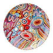 Alperstein - Aboriginal Art Judy Watson JU Plate 13cm