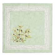 French Linen - Clos des Oliviers Green Napkin