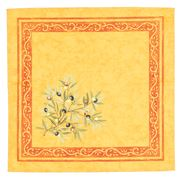 French Linen - Clos des Oliviers Yellow Napkin