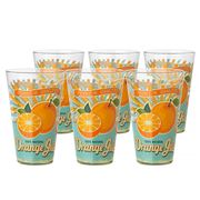 Cerve - Orange Juice Highball Tumbler Set 6pce
