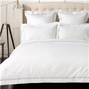 Sheridan - Palais Tailored Silver Pillowcase