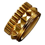 Waterford - Rebel Gracie Small Gold Ring