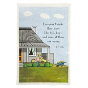 Rodriquez - Red Tractor Best Dog Tea Towel