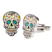 Cufflinks - Day Of The Dead Skull