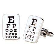 Cufflinks - Eye Chart Cufflinks