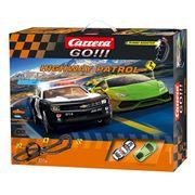 Carrera - Go! Highway Patrol Slot Racing System