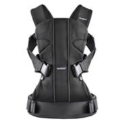 BabyBjorn - Black Mesh Baby Carrier One with Gift