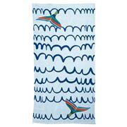 Wonga Road - Whale Tail Kids' Beach Towel