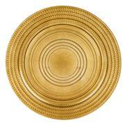 Amalfi - Gold Rondel Plate 33cm