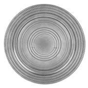 Amalfi - Silver Rondel Plate 33cm