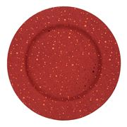 Amalfi - Twinkle Red Charger
