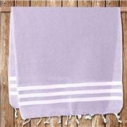 Lalay - Turkish Cotton Lilac Gym Towel 50x100cm