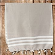 Lalay - Cotton Gym Towel Beige 50x100cm