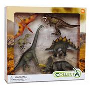 CollectA - Prehistoric Dinosaur Set 6pce
