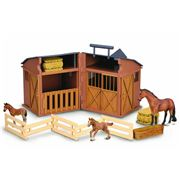 CollectA - Horse & Stable Set 4pce