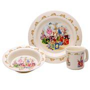 Royal Doulton - Bunnykins ABC Melamine Mealtime Set 3pce