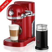 KitchenAid - Nespresso KES0504 Empire Red Coffee Machine