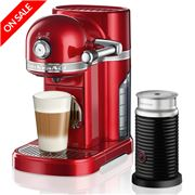 KitchenAid - Nespresso KES0504 Candy Apple Coffee Machine