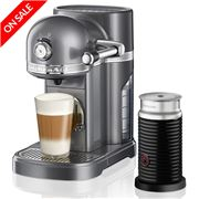 KitchenAid - Nespresso KES0504 Silver Coffee Machine