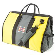 American Duffle - Warrior Yellow & Grey Duffle Bag